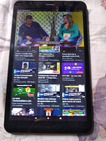 Vendo Tablet Multilaser M8 4g 32gb