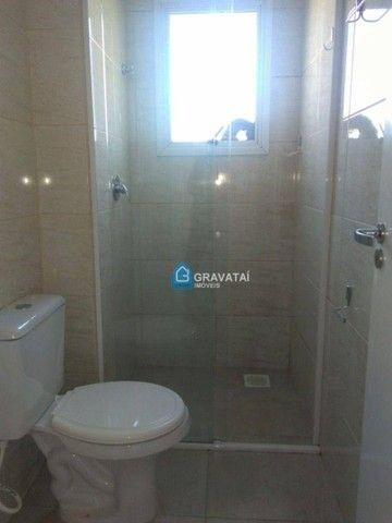 Apartamento com 2 dormitórios para alugar, 62 m² por R$ 1.120,00/mês - Monte Belo - Gravat - Foto 9