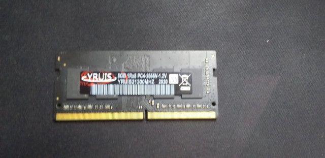 Memória Ram Ddr4 8gb 2666 Mhz Para Notebook Nunca Usado