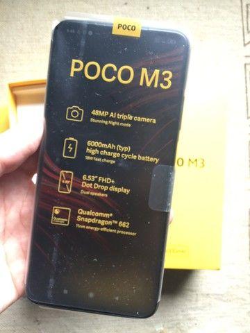 Poco M3 novo na caixa