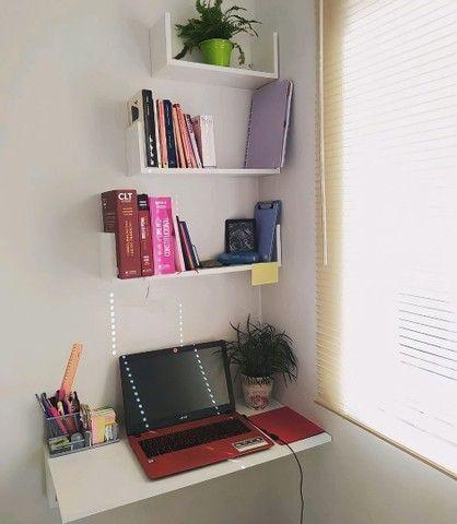 Combo Promocional: Escrivaninha Suspensa + Três Nichos
