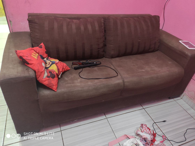 Vendo sofá dois e três lugares - Foto 2