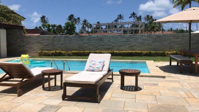 RBA Vendo casa na Praia de Serrambi, cond, fechado, terreno 15x30, 6 suítes, lazer! - Foto 4