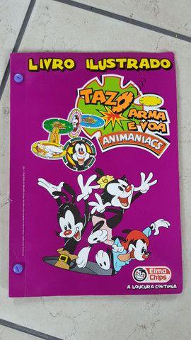 Álbuns com tazos - Looney Tunes, Animaniacs e Tiny toons - Foto 3