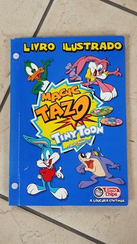 Álbuns com tazos - Looney Tunes, Animaniacs e Tiny toons - Foto 5