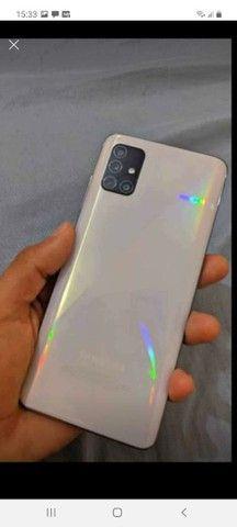 A51 128GB de memória 6GB de ram celular está novo perfeito 950 reais  - Foto 2