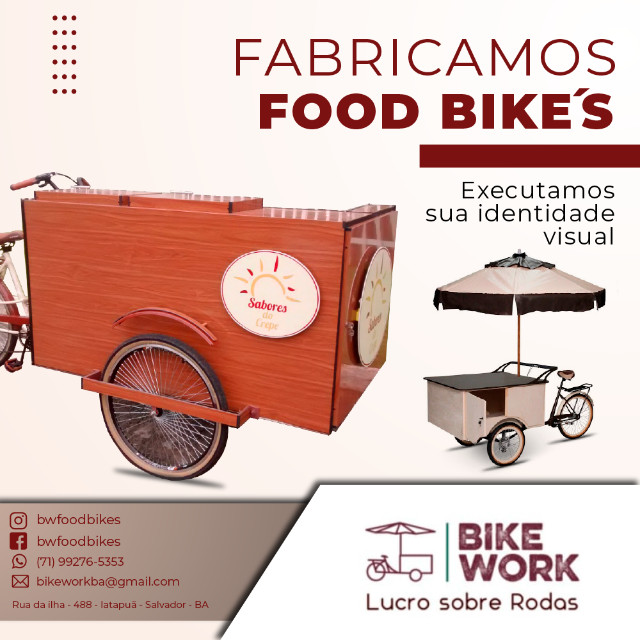 Food bikes Carrinhos Gourmet - Foto 4