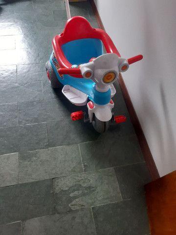 Motoca que virá triciculo tem efeito sonoro!!***** - Foto 5