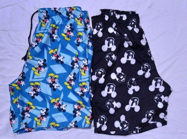 Shorts Tactel Sublimada Masculinos - Foto 6