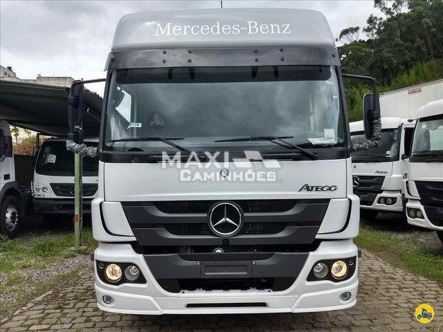 MB Atego 2426 6x2 Truck OKM Completo Pronta entrega - Foto 2