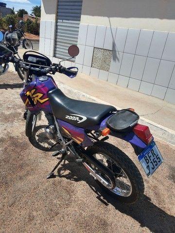 XR 200 moto pra coleção nada pra fazer filé toda  - Foto 5