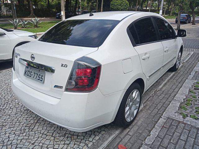 Nissan Sentra 2013 2.0 mec.branco(lindo!)completo+gnv+revisado+novíssimo!! - Foto 11