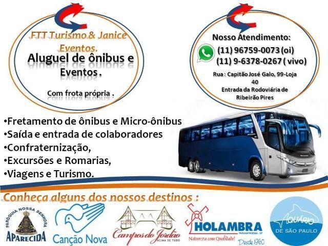 Aluguel de ônibus e Micro Onibus