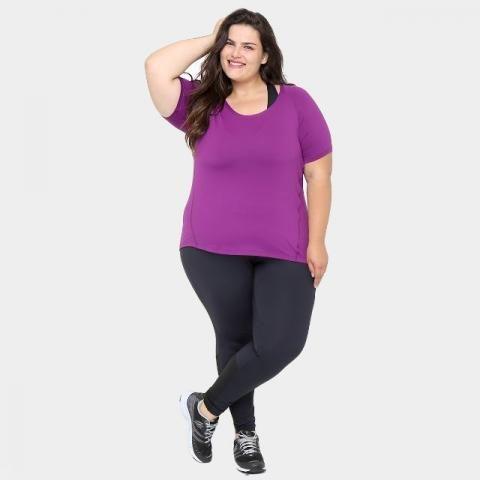 Camiseta Plus Size gonew Feminina
