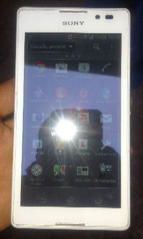 Celular Sony Branco