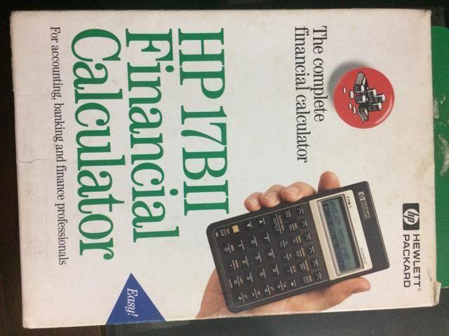Calculadora HP 17 B II