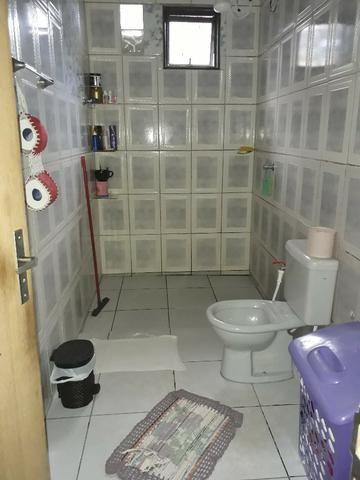 QNL 18 lote 180m² 3 quartos cerâmica forro PVC 210 mil quitada - Foto 12