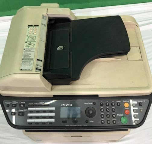 Vendo já impressora usada kiVendo impressora kiocera aceitamos cartões de crédito watsap - Foto 3