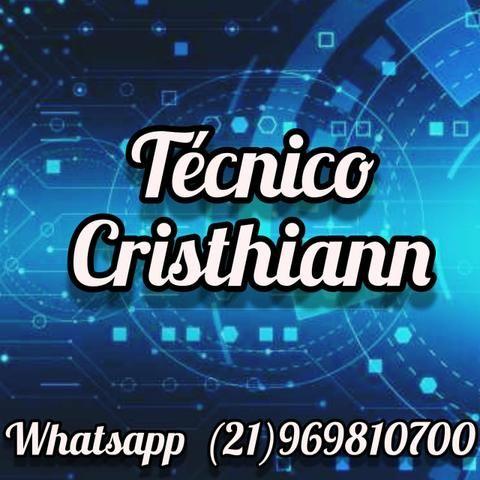 Técnico Cristhiann - Pc Notebook Celulares Video Games e TV