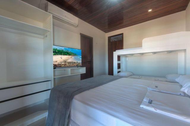 Linda mansão duplex, mobiliada, no porto das dunas - Foto 17
