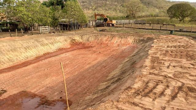 Escavadeira prestação de serviço - Foto 4