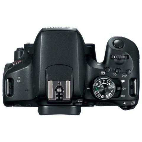 Kit Câmera Canon EOS-Rebel T7I + EF-S 18-135mm - Foto 5