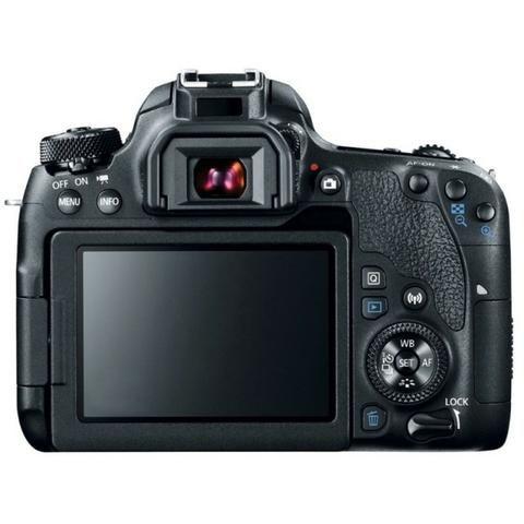 Kit Câmera Canon EOS-Rebel T7I + EF-S 18-135mm - Foto 2