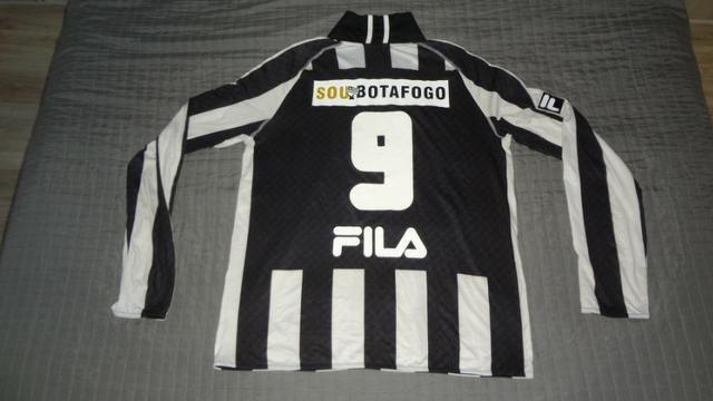 c63c91ba0c Camisa Botafogo Fila Sou Botafogo Manga Longa  9 Jogo Rarissima Exclusiva