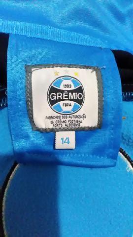 Casaco Oficial Grêmio Tamanho 14 - Roupas e calçados - Aberta dos ... 562314b35cc08