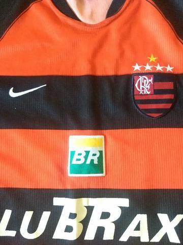 Camisa oficial do Flamengo Nike N.10 2001 2004 tamanho G - Roupas e ... 929de935c2d36
