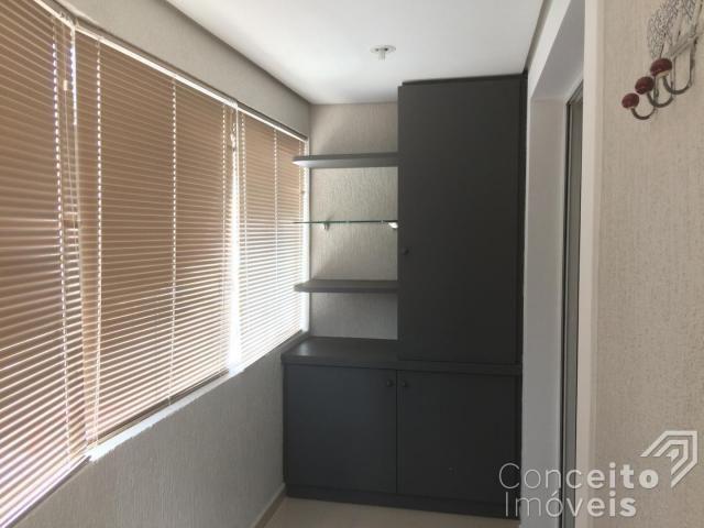 Apartamento à venda com 2 dormitórios em Estrela, Ponta grossa cod:392631.001 - Foto 12