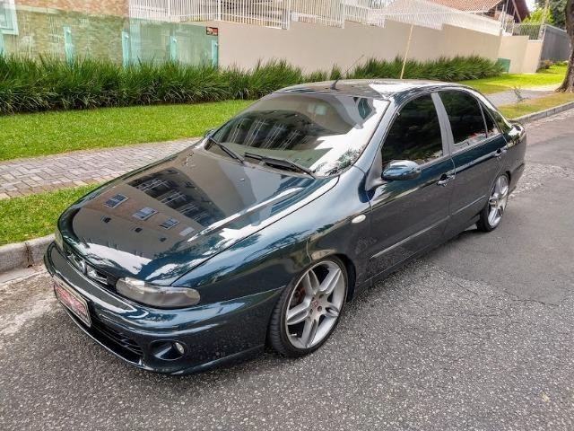 Fiat Marea SX 1.8 2002 . Suspensão a ar Rodas 17 Super Oferta Boa Vista Automóveis - Foto 2