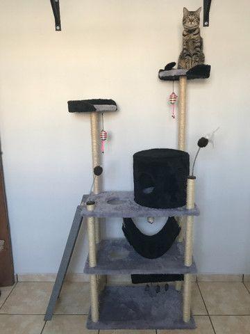 Brinquedo Arranhador Castelo Torre para Gatos