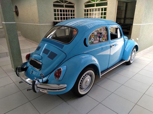 Fusca Azul Bebê 75 - Foto 2