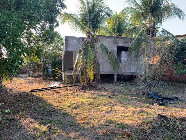 Terreno chácara Ipe com casa inacabada - Foto 5