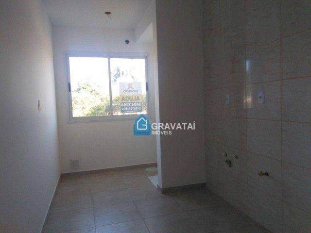 Apartamento com 2 dormitórios para alugar, 62 m² por R$ 1.120,00/mês - Monte Belo - Gravat - Foto 4