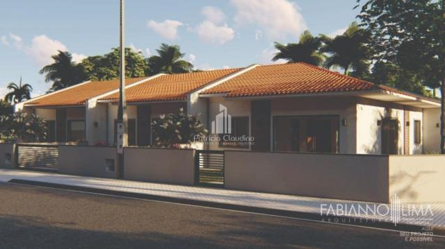 Casa nova com 02 dormitórios