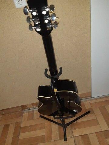 Vendo violão profissional PHX-188EQ  - Foto 4