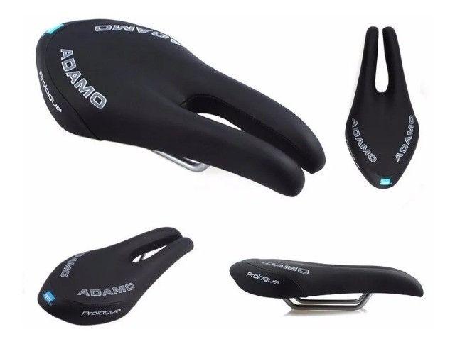 Banco Selim ISM Adamo Prologue / Bicicleta / Ciclismo / Muito Leve e Super Confortável