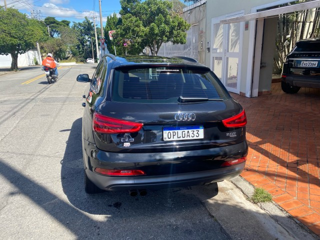 Audi Q3 interior caramelo Ipva 2021 Pago + Revisões - Foto 7