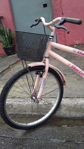 Vendo bicicleta aro 24 cesizinha - Foto 2
