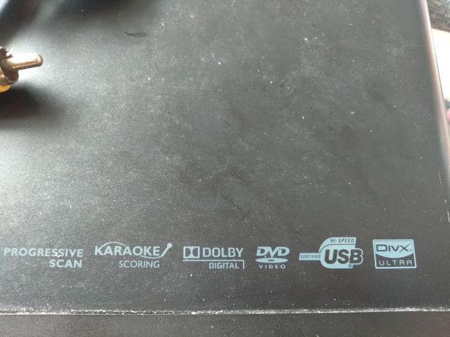 Dvd Philips funcionando bem ou troco por tv box