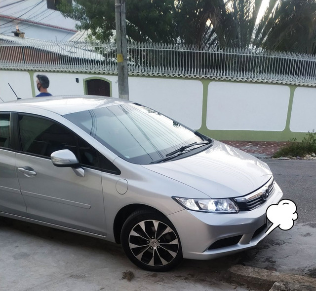 Honda Civic blindado