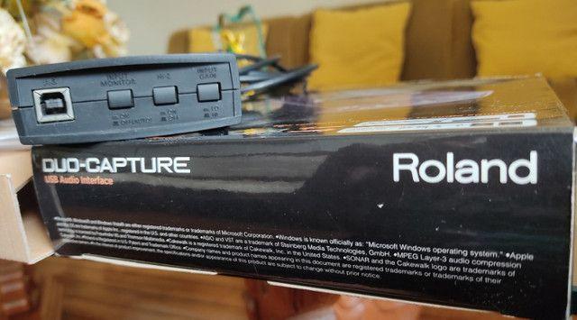 Interface de áudio Roland Capture Duo - Foto 4