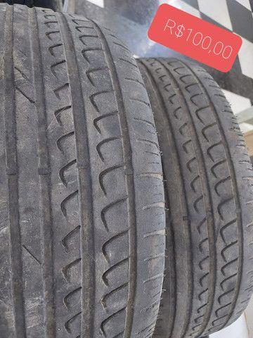 Pneu roda aro 15 promoção perfil 60 - Foto 2