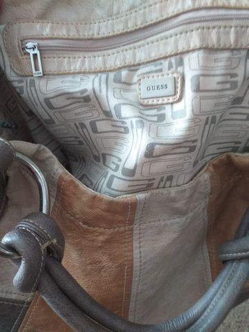 Bolsa da GUESS de couro original! - Foto 3