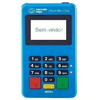 Maquininha cartão Mercado Pago point mini Chip  - Foto 2