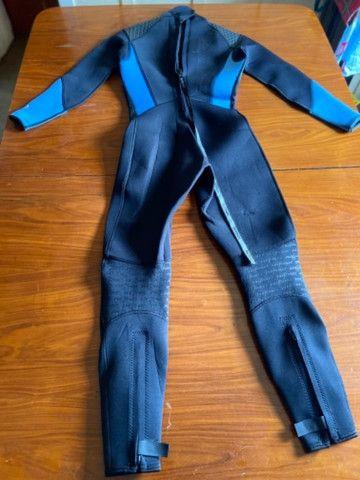 Roupa de mergulhador Americana - Foto 4