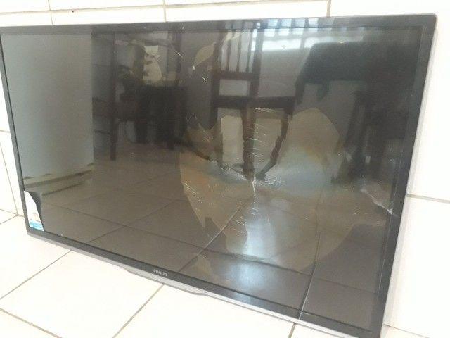 Smart 's tv com defeito nas telas! - Foto 3