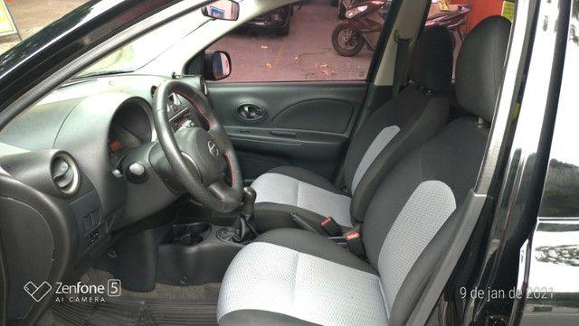 Nissan March 1.0 S Flex Revisado Kit Mult. Novo !! - Foto 13